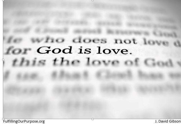 God is love-tagged